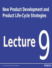 BUS10311(2014-15A) Lecture 9 New Product Development and Product Life-Cycle Strategies (By Bernard)