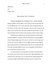 LST Major Essay- The Natural