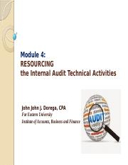6 - RESOURCING THE IA ACTIVITIES.pptx