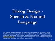 Dialog+4+-+Speech+and++Language