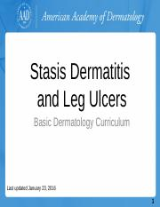 Stasis-Dermatitis-and-Leg-Ulcers.pptx