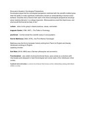 Sociology Chapter 1-3 Glossary
