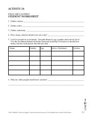 What Are Calories - Student Worksheet 3A.pdf