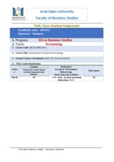BE210-TMA for Fall Semester2014-2015 (1)