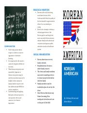 korean american brochure
