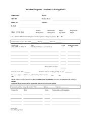 Aviation Program Advising Form.pdf