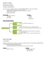Study Designs and Measures .docx