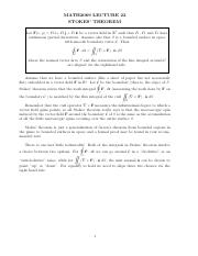 Lecture 22 Stokes Theorem.pdf