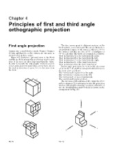 06.1 - Orthographic Projection
