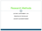 3 - Research Methods