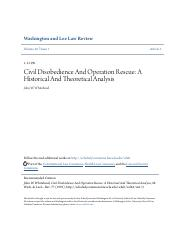 Civil Disobedience And Operation Rescue- AHistorical And Theoret.pdf