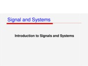 Ch1 Signals & Systems