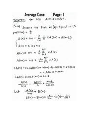 Average Case Page 1