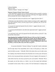 Nyu reckoning essay