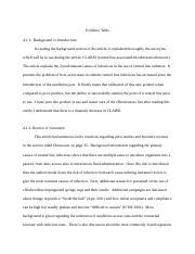 C361 Task 1 Qualitative article docx - Evidence Table B1 1