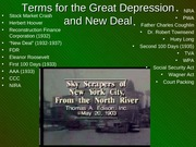 260 Great Depression and New Deal