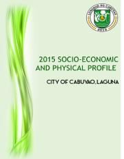 Cabuyao Socio-economic profile-Clup   Updated.docx