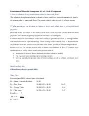 Foundations of Financial Management Chp 6 assignment.docx