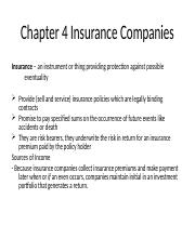 4 Insurance Companies.ppt