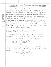 CT_and_DT_Fourier_Transforms_and_Sampling_Theory