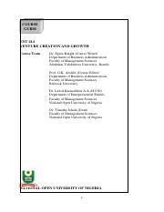 Ent 403 Project Management 0 Pdf Course Guide Ent 403 Project