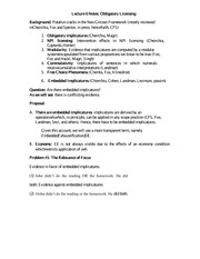 Lecture 6 Notes Obligatory Licensing