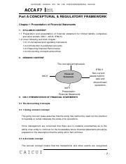 02-ACCA-F7-讲义-基础-PART A-Chapter 1 Presentation of Financial Statements-1.pdf