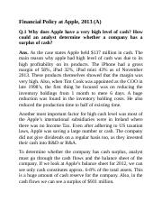1. Asignment_ Financial Policy at Apple.docx