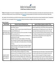 5-3-1 Activity: Historical Context Chart