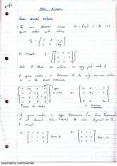 Special Matrices Lecture Notes 4