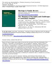 The Shaping of Strengths and Challenges 2.pdf
