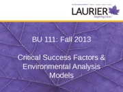 2-External analysis models 2013 student