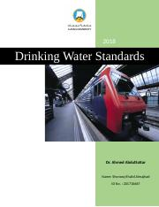Drinking Water Standards.docx
