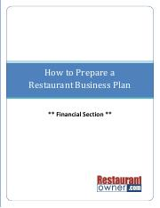 How to prepare a business plan_4.16.2013
