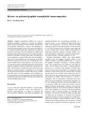 Review on polymer-graphite nanoplatelet nanocomposites.pdf
