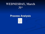 PROCESS ANALYSIS 2