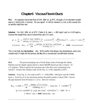 Ch-6 Solutions-White-Fluid-Mechanics-7th-Ed