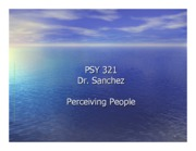 PersonPerception ppt