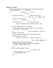 STAT 801 Midterm solutions