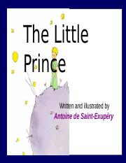 THE LITTLE PRINCE NOVELLA Lecture.ppt