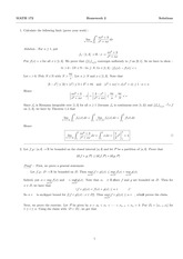 MATH 172 Spring 2014 Homework 2 Solutions