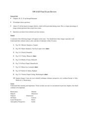 Survery of Western Art & Architecture 2 Final Exam study guide