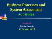 001 AC730 HB1  Session 6 LOAD Copy 19oct15