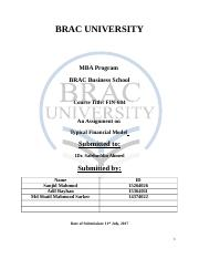 BRAC UNIVERSITY Final Report on International Business.docx