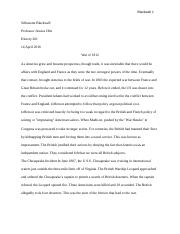 Essay on the war of 1812