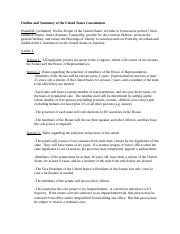 outline_and_summary_of_the_united_states_constitution