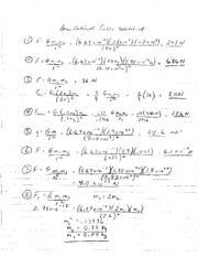 Gravitational Fields Solutions