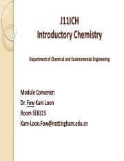 Week1_Introductory Chemistry Intro