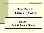 Policy and Ethics_1