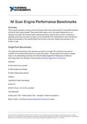 scan engine timing